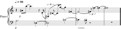 atonal melody